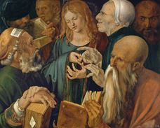 Show Jesus among the Doctors, 1506 details