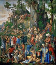 Show The Martyrdom of the Ten Thousand, 1508 details