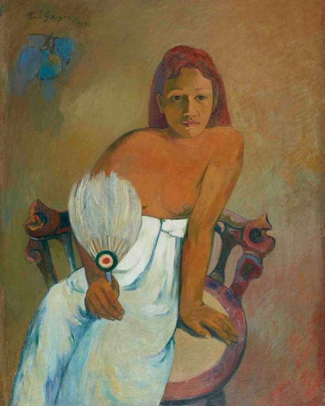 Yelpazeli Kız, 1902 resmi