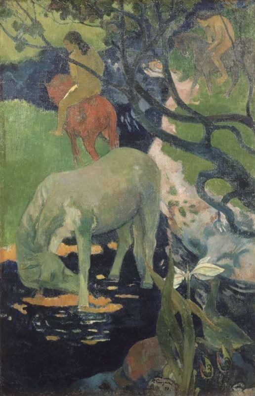 Beyaz At, 1898 resmi