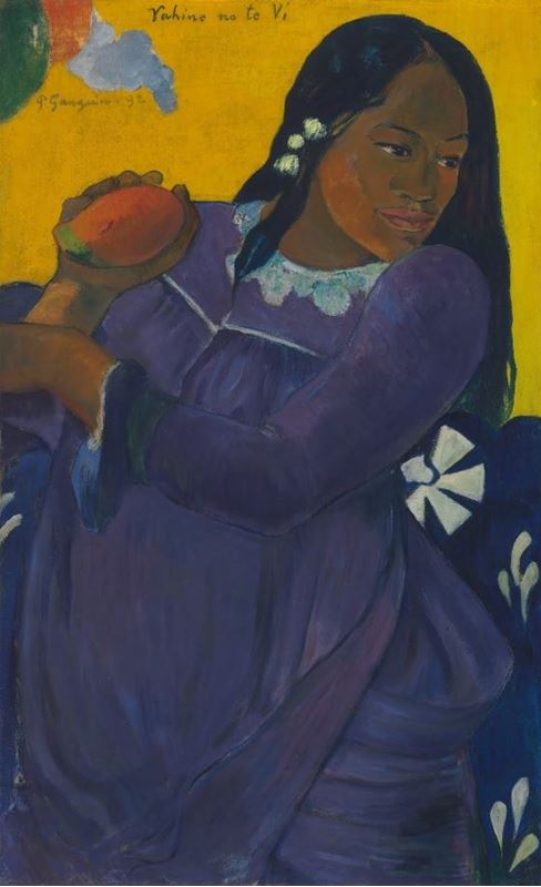 Picture for Woman of the Mango, 1892