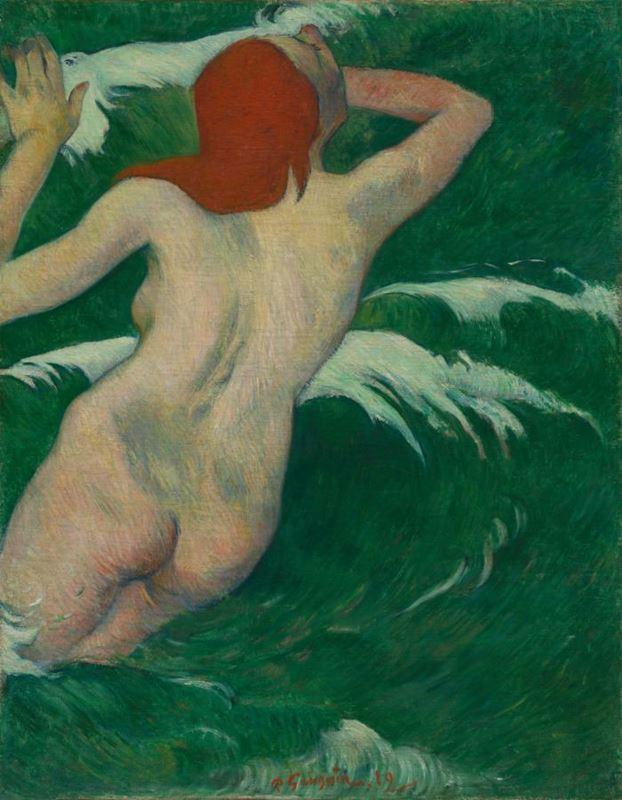 Dalgalar Arasında, 1889 resmi