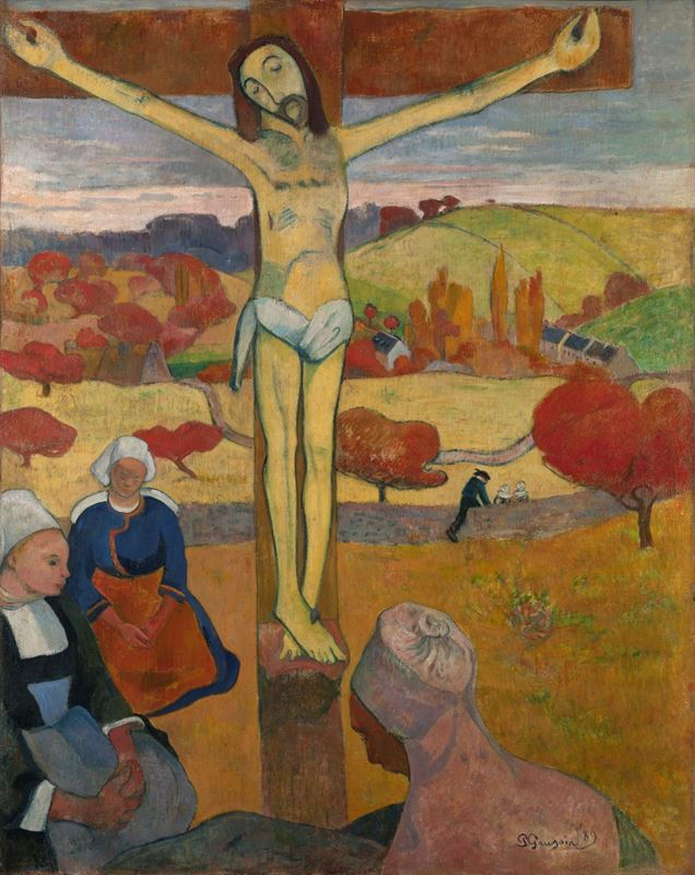 Picture for The Yellow Christ, 1889