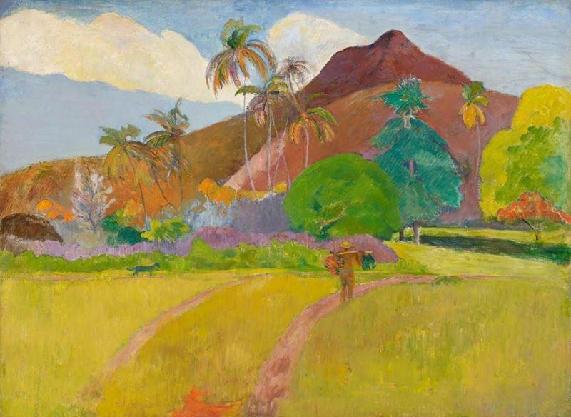 Tahiti Manzarası, 1891 resmi