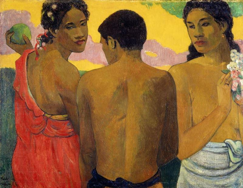 Üç Tahitili, 1899 resmi