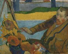 Vincent van Gogh Ayçiçekleri Resmini Yaparken, 1888