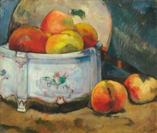 Show Still Life with Peaches, c. 1889 details