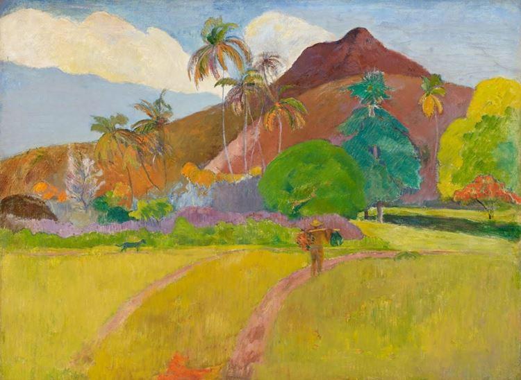 Tahiti Manzarası, 1891 picture
