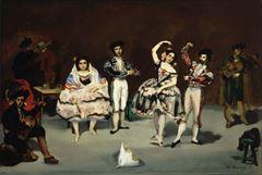 İspanyol Balesi, 1862, Tuval üzerine yağlıboya, 61 x 91 cm, The Philips Collection, Washington, ABD.
