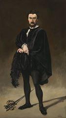 Trajik Aktör, 1866, Tuval üzerine yağlıboya, 187.2 x 108.1 cm, National Gallery of Art, Washington, ABD.