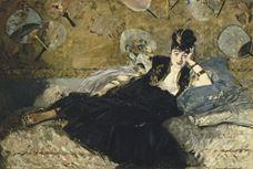 Yelpazeli Kadın, 1873