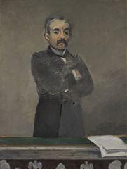 Georges Clemenceau, 1879-1890, Tuval üzerine yağlıboya, 115.9 x 88.2 cm, Kimbell Art Museum, Texsas, ABD.