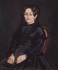 Show Portrait of Madame Auguste Manet, 1863 details