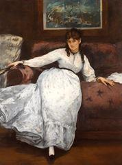 Dinlenme, 1870-1871, Tuval üzerine yağlıboya, 150.2 x 114 cm, RISD Museum, Providence, ABD.