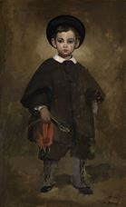 Show Child Portrait, 1861 details