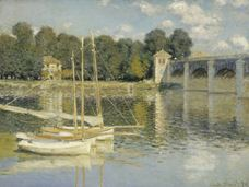 Show The Argenteuil Bridge, 1874 details