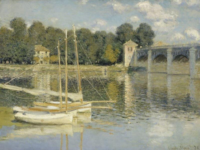 Argenteuil'de Köprü, 1874 resmi