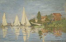 Argenteuil'de Yelkenli Yarışları, 1872 dolayları