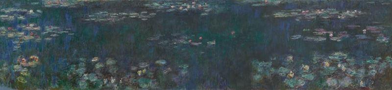 Nilüferler, Yeşil Yansımalar, 1915-1926 dolayları resmi