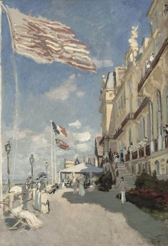 Trouville'de Hotel des Roches Noires, 1870 resmi