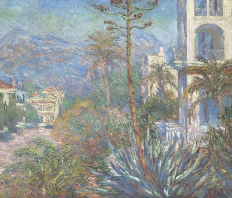 Bordighera'da Villalar, 1884 resmi