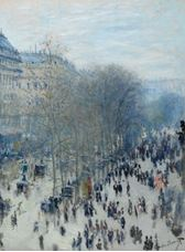 Show Boulevard des Capucines, 1873-1874 details