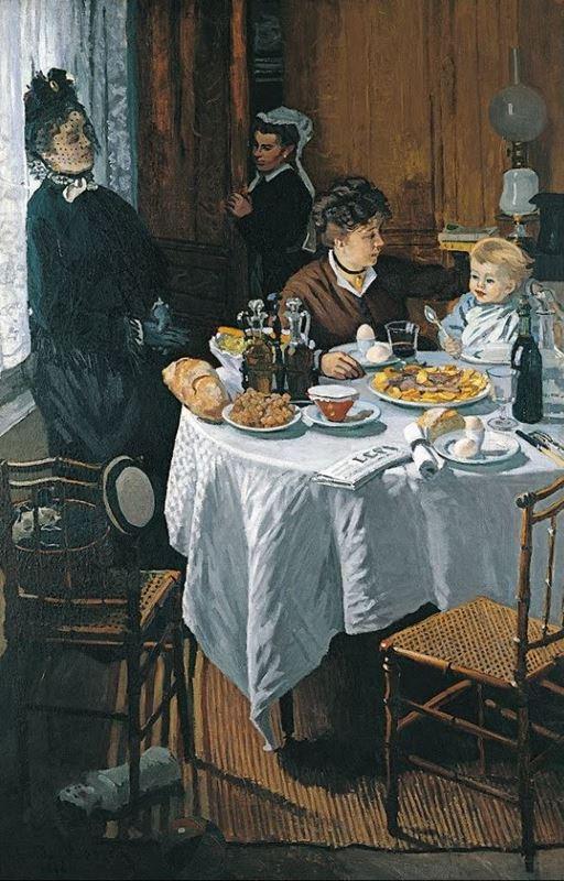 Öğle Yemeği, 1868-1869 resmi