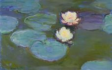 Show Water Lilies, c. 1897-1898 details