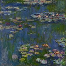 Show Water Lilies, 1914 details