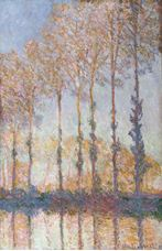 Show Poplars on the Bank of the Epte River, 1891 details