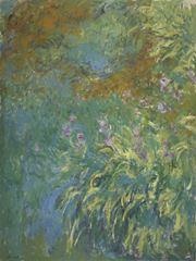 Süsenler, 1914-1917, Tuval üzerine yağlıboya, 199.4 x 150.5 cm, Virginia Museum of Fine Arts, Richmond, ABD.
