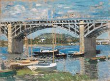 Argenteuil Köprüsü, 1874