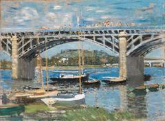Argenteuil Köprüsü, 1874, Tuval üzerine yağlıboya, 60 x 81.3 cm, Neue Pinakothek, Münih, Almanya.