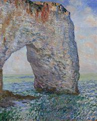 Etretat'ta Manneporte Kayalıkları, 1886, Tuval üzerine yağlıboya, 81.3 x 65.4 cm, The Metropolitan Museum of Art, New York, ABD.