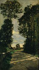 Saint-Siméon Çiftliği'ne Giden Yol, 1864