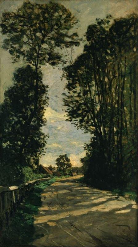 Saint-Siméon Çiftliği'ne Giden Yol, 1864 resmi