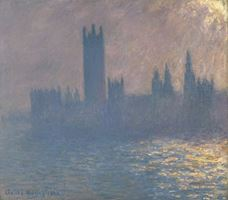 Show Houses of Parliament, Sunlight Effect, 1903 details