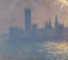 Parlamento Binası, Güneş Işığı Etkisi, 1903