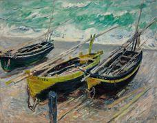 Üç Balıkçı Teknesi, 1886