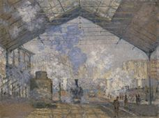 Show The Saint-Lazare Station, 1877 details