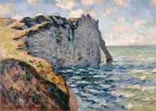 Show The Cliff of Aval, Etretat, 1885 details