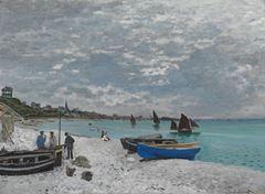 Sainte-Adresse'te Sahil, 1867, Tuval üzerine yağlıboya, 75.8 x 102.5 cm, The Art Institute of Chicago, Chicago, ABD.