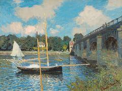 Argenteuil'de Köprü, 1874, Tuval üzerine yağlıboya, 60 x 79.7 cm, National Gallery of Art, Washington, ABD.