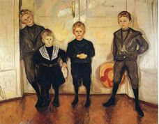 Dr. Max Linde'nin Dört Oğlu, 1903