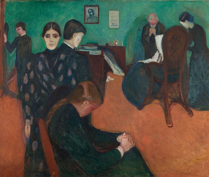 Hasta Odasında Ölüm, 1893 resmi