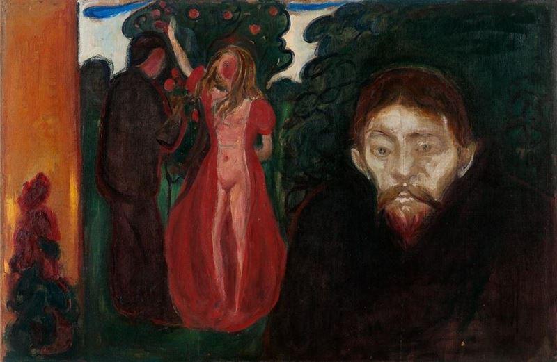Kıskançlık, 1894 resmi