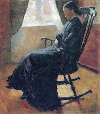Sallanan Sandalyede Karen Bjølstad, 1883