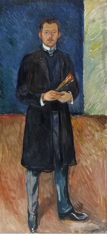 Picture for Self-Portrait with Brushes, 1904