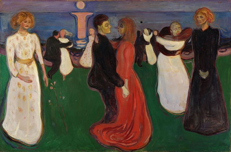 Yaşam Dansı, 1899-1900 resmi