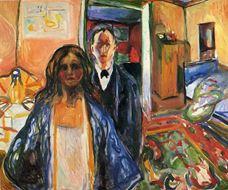 Sanatçı ve Modeli, 1919-1921